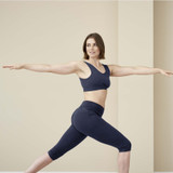 Women's ¾ Sports Leggings, Organic Cotton