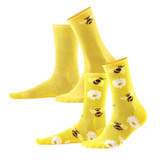 Women's Organic Cotton Socks Color: 15 sun