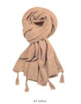 Wool Cashmere Women Scarf