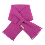 Babies Kids Organic Wool Fleece Scarf Color: 24 magenta