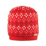 Organic Merino Wool, Cotton, Silk Color: 15 red