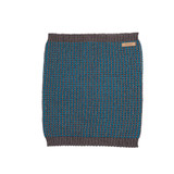 Organic Merino Wool Silk Neck Warmer  Color: 96 slate grey