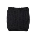 Women Organic Merino Wool Neck Warmer Color: 99 Black