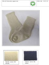 Organic Wool Baby Socks