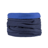 Organic Merino Wool cashmere loop scarf Color:  301 dark ink