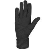 Organic Merino Wool Ladies Gloves Color: 99 black