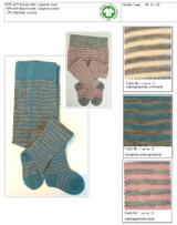 Organic Wool Cotton Baby Tights