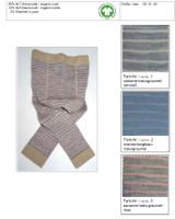 Organic Wool Cotton Baby Leggings
