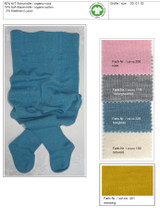 Organic Wool Cotton Baby Tights