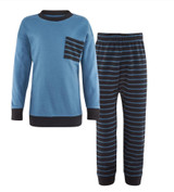 Organic Cotton Shirt and Pants Set for Children