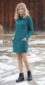 Organic Wool Krepp-fleece Dress