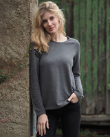 Organic Wool Silk Women Shirt