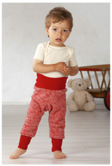 Organic Wool Fleece Cotton Baby Pants