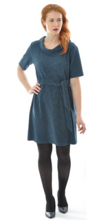 Women Silk Wool Dress