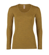 Organic Wool Women's Long Sleeved Shirt