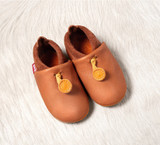Handmade Natural Leather Indoor Slippers