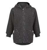 Organic Boiled Wool Zip Jacket  Color:
