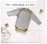 Organic Wool/ Silk Long-Sleeved Bodysuit