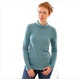 Women 100% Bourette Silk Shirt