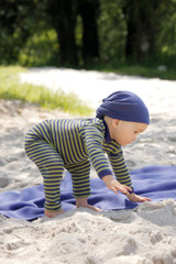 Organic Merino Wool/ Silk Baby Leggings Color: Prune/ Kiwi