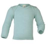 Merino Wool/Silk Baby Shirt Color: 30E glacier