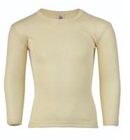 Engel Organic Wool/ Silk Children's Long Sleeved Shirt Color: Natural