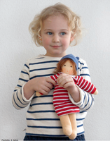 "Organic Cotton Waldorf Doll- ""Mimi"""