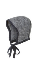 Knitted Melange Bonnet Color: Antracit Grey