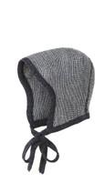 Knitted Melange Bonnet Color: Antracit Grey