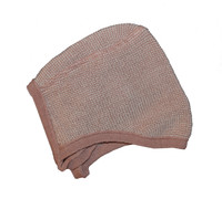 Knitted Melange Bonnet Color: 50 Rose Natural