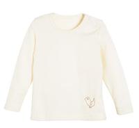 Organic Wool/ Silk Long Sleeved Shirt Color: 01 natural