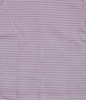 Organic Cotton Long Sleeved Shirt for Children Color: Pink/ Natural/ Lavender Stripes