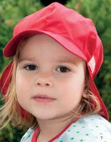 Organic Cotton Sun Hat Color: red
