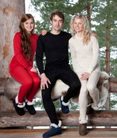 Ruskovilla Organic Merino Wool Adult Underwear Shirt