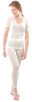 Organic Silk Jersey Leggings for Women