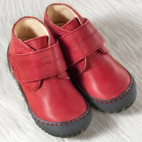 Pololo Natural Leather Shoes Color: Berry