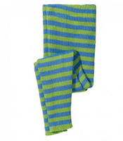 Disana Organic Merino Wool Striped Knitted Leggings for Kids