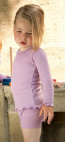 Engel Organic Wool/ Silk Girls' Pajama Top