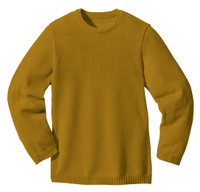 Disana Organic Wool Basic Lightweight Sweater Color: 458 Gold