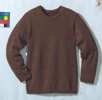 Disana Organic Wool Basic Lightweight Sweater Color: Hazelnut