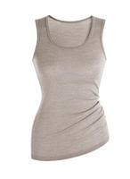 Women's Sleeveless Shirt | Organic Merino Wool / Cotton