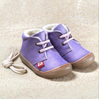 Natural Leather Shoes Color: Lilac
