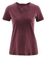 Women's Organic Cotton Shirt Color: Light Grape