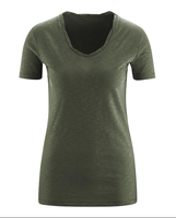 Women's Organic Cotton Shirt Color: Olive