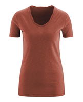 Women's Organic Cotton Shirt Color: Saffron