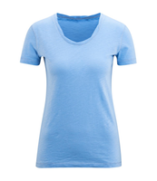 Women's Organic Cotton Shirt Color: bleu