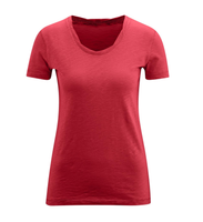 Women's Organic Cotton Shirt Color: poppy