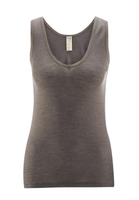 Women's Sleeveless Shirt Color: 77 Charcoal
