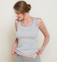 "Women's Sleeveless Shirt    Organic Cotton ""ANNA"""