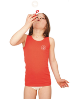 Kid's Sleeveless Shirt | Organic cotton 2 pack